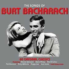 THE SONGS OF BURT BACHARACH - 60 ORIGINAL CLASSICS - VARIOUS  (NEW SEALED 3CD)