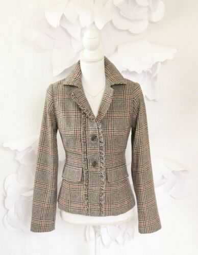 donna da Plaid 0 Jacket Harold's Blazer nqIBg8