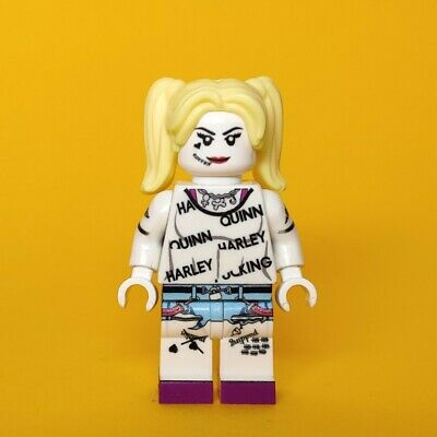 Lego Custom Harley Quinn Birds Of Prey Movie Minifigure Uv Printed