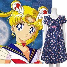 Anime Sailor Moon 25th Anniversary Pajamas Dress Magic Wand Sleepwear Kawaii Bow