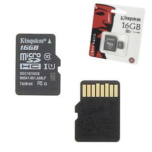 Carte-Memoire-Micro-SD-16-Go-classe-10-Pour-Sony-Xperia-X