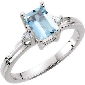 14k-White-Gold-Aquamarine-and-Diamond-Ring-Size-6