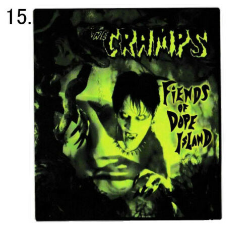 The Cramps PSYCHOBILLY Vinyl Stickers Decal Garage Horror Poison Ivy Punk Lux