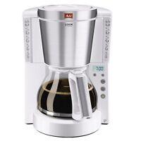 Melitta Look Timer Weiß 15 Tassen Kaffeemaschine