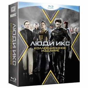 X-men-Coleccion-Blu-ray-2016-5-Discos-Eng-ruso-italiano-frances-checo