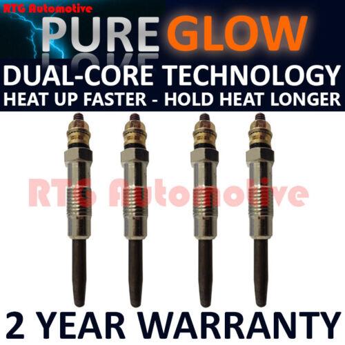 4X per FIAT SCUDO ULYSSE Regata Tempra 1.9 Diesel Glow Riscaldamento Candele GP92412
