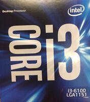Intel - Bx80662i36100t - Core I3-6100, 3 Mb, 3.70 Ghz, Lga1151 Cpu Processor