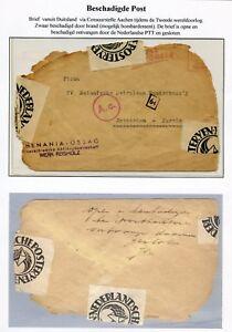WW-II-envelop-uit-Dld-censuur-AACHEN-naar-Rotterdam-OPEN-EN-BESCHADIGD-ONTV