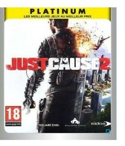 Jeu PS3 Just Cause 2 Platinum Occasion