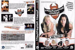 THE-UNDERGROUND-COMEDY-MOVIE-1999-dvd-ex-noleggio