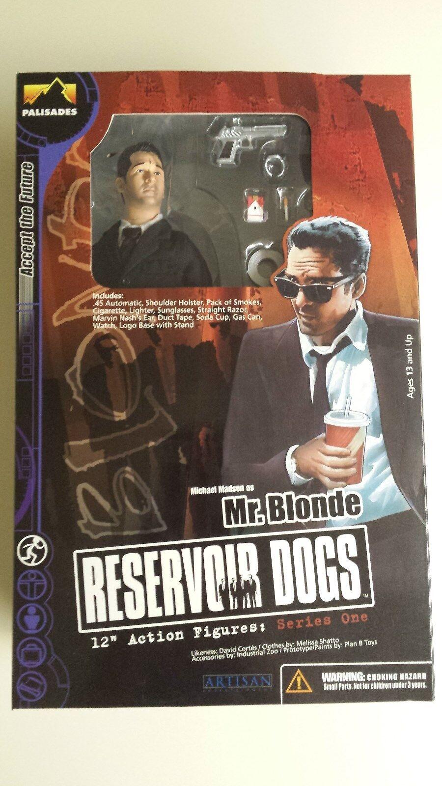 Reservoir dogs palisades original 12  action - figur mr. blonde reihe 1 nib