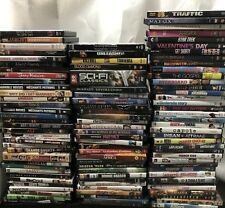 Lots of 100 Used Assorted DVD Movies 100 Bulk DVDs Used DVDs Lot Wholesale Lots
