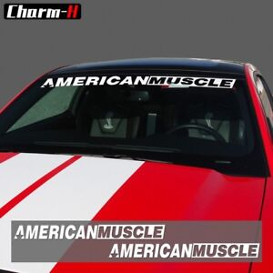 american muscle car murica windshield decal vinyl decal universal