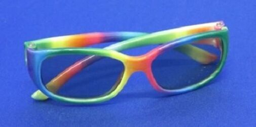 """Lovvbugg Sun Glasses New Rainbow for 18"""" American Girl Doll Clothes Accessory"""