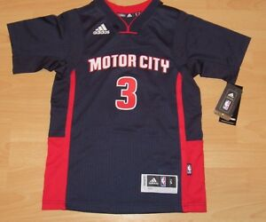 buy popular 86d0d 69781 Adidas Detroit Pistons Stanley Johnson #3 Motor City Jersey ...