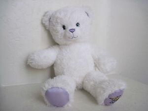 """Build A Bear HANNAH MONTANA WHITE TEDDY BEAR 17"""" Plush Stuffed Animal"""