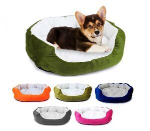 Cuccia per cani e gatti in caldo pile  50 X 40 X 15 CM Cuscino Removibile