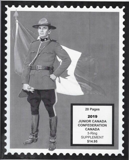 Unitrade Canada Junior Stamp Album Supplement - 2019 | eBay