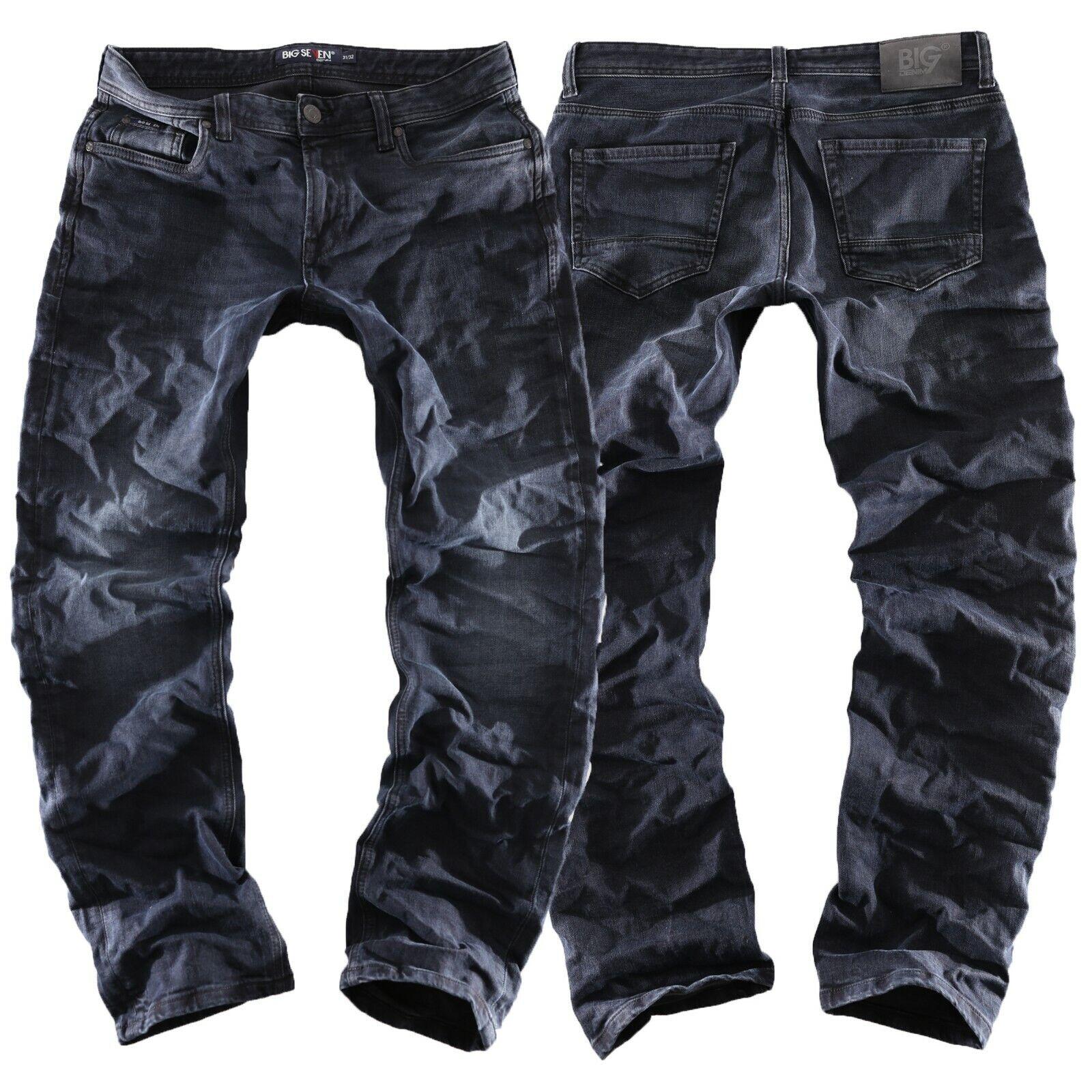Big Seven Cade Luxe Lavado blue - Regular Recto Pantalones Vaqueros de Hombre