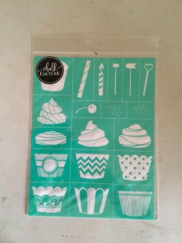 Birthday fun brand new NIP Chalk Couture Build a Cupcake transfer celebration