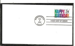 US-SC-3558-Happy-Birthday-FDC-Uncacheted