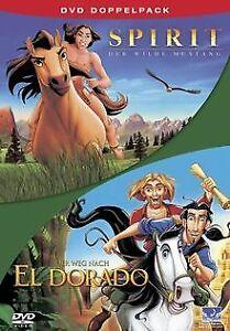 Spirit-der-wilde-Mustang-Der-Weg-nach-El-Dorado-2-DVD-DVD-Zustand-gut