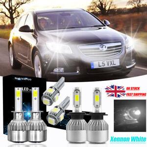 Peugeot 207 55w Clear Xenon HID Low Dip Beam Headlight Headlamp Bulbs Pair