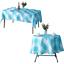 miniature 12 - Imperméable Nappe Home Table de salle à manger Protecteur Rond/Rectangulaire Table Housse