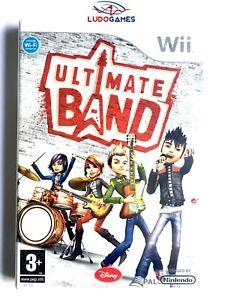 Ultimate-Band-Wii-PAL-SPA-Precintado-Videojuego-Nuevo-New-Sealed-Retro-Nintendo