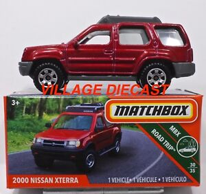 Image Is Loading 2018 Matchbox Grabs 111 2000 Nissan Xterra