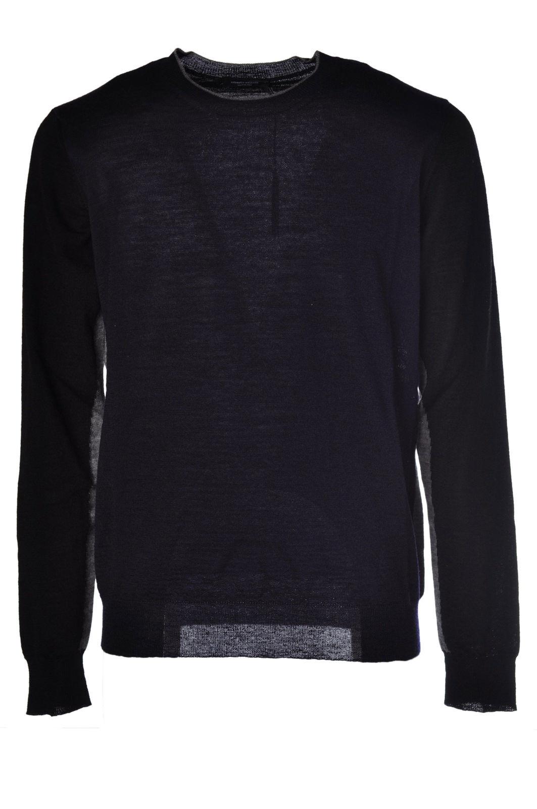 Roberto Collina - Knitwear-Sweaters - Man - Blau - 474315C180923