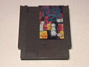 Tetris-2-Nintendo-Nes-Cleaned-amp-Tested-Authentic