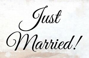 Just-Married-By-Anne-Svea-Tin-Sign-Shield-Arched-7-7-8x11-13-16in-H0034