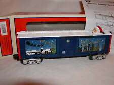 Lionel 6-81992 Christmas Santa Claus Bobbing Head Box Car O 027 2014 New