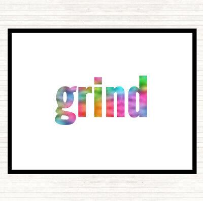 Grind Rainbow Preventivo Tavola Tovaglietta Americana- Durevole In Uso