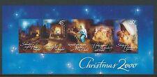AUSTRALIA 2000 CHRISTMAS MINIATURE SHEET UNMOUNTED MINT, MNH