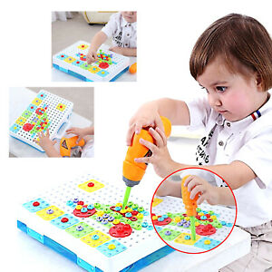 Children S Educational Toys Toy Drill Tool Toddler Toys Kids Learning Activity Ebay