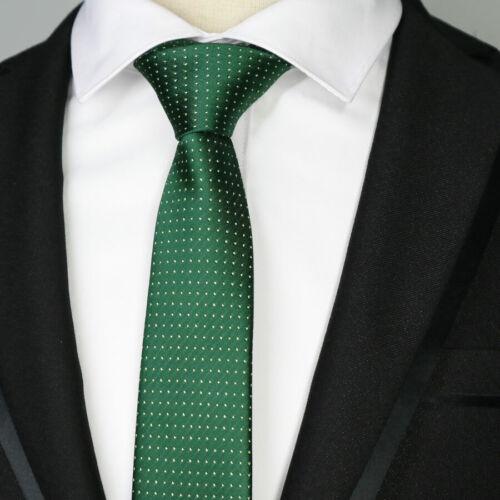 NEW 6CM Man Skinny Ties Narrow Necktie Stripes Dots Plaids Gravatas Neck Ties