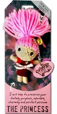 "Watchover VOODOO DOLL Keychain, THE PRINCESS, Princess Perfect, 3"" Tall"