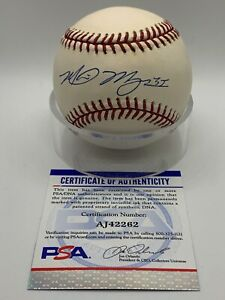 Mike Myers Boston Red Sox Signed Autograph Official OMLB Baseball PSA DNA