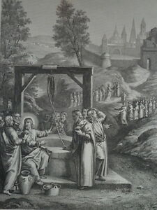 Jesus-Christ-the-Samaritans-Bordaux-in-Jesus-Gravure-of-1863