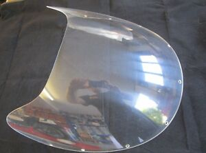 Fits Suzuki GS1000 S WES COOLEY model std Clear screen UK Made