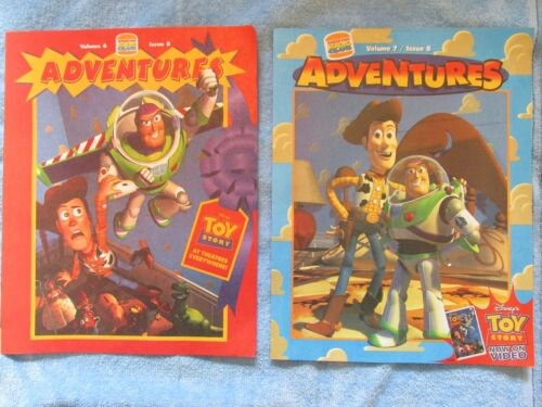 Issue 8 Issue 8 Burger King 1996 /& Volume 7 Rare Toy Story Booklets Volume 6