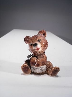 Antiquitäten & Kunst +# A000585 Goebel Archiv Muster Bär Brown Bear Braunbär 36-010 Plombe SchüTtelfrost Und Schmerzen