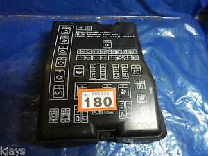 details about mitsubishi space runner wagon chariot n50 1998 2004 fuse relay box cover lid mitsubishi chariot engine mitsubishi space runner fuse box