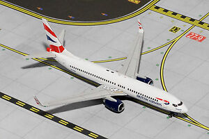 Gemini Jets British Airways Boeing 737-800 GJBAW1335 1/400, REG# ZS-ZWI. New
