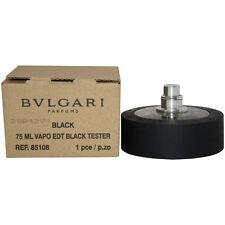 Bvlgari Black by Bvlgari 2.5 oz EDT Unisex TST 75ml New Spray Men Women