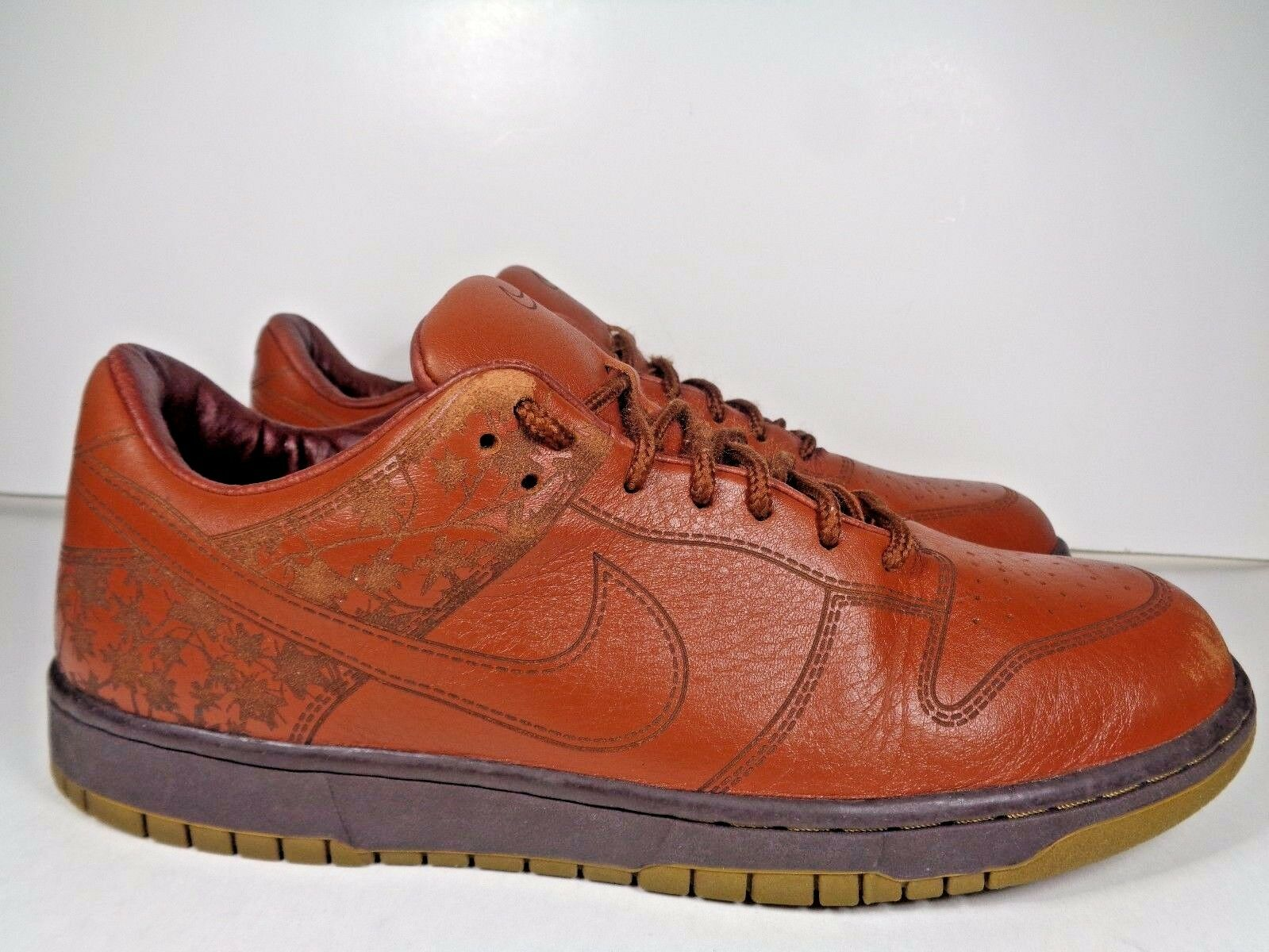 Mens Nike Dunk Low 1 Piece Pony 312424-222 Basketball shoes size 10.5 New shoes for men and women, limited time discount