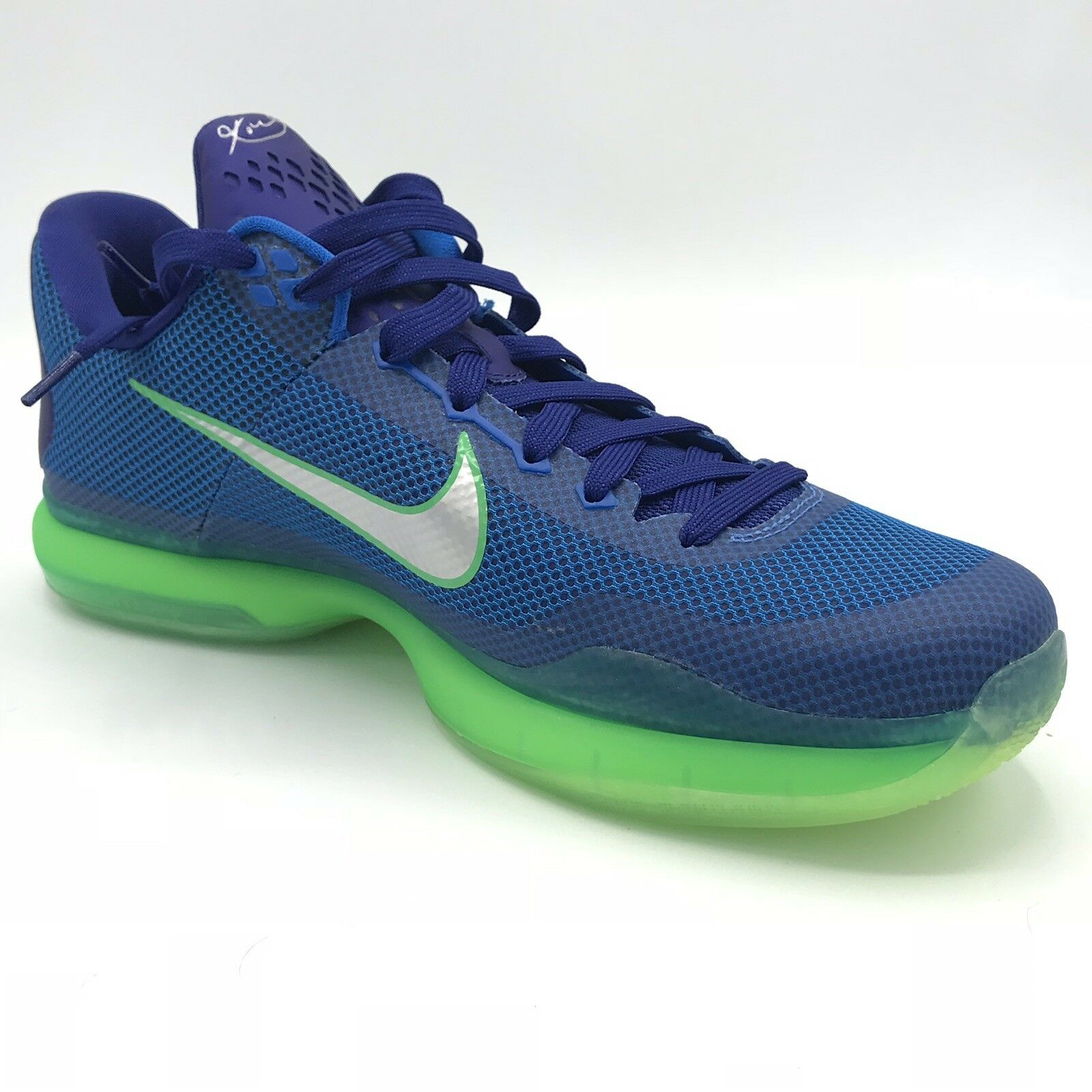 cd45c75553 Nike Men Kobe X 705317-402 Emerald City Basketball shoes bluee Sz 10.5 New  In