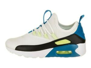 1e6e13aeff Nike Women's Air Max 90 EZ NEW AUTHENTIC White/Black-Blue Nebula ...